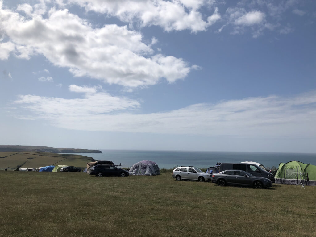 good campsite in the south hams in devon