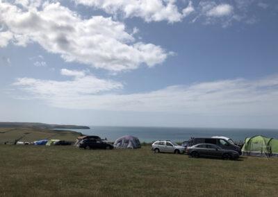 good campsite in the south hams in devon